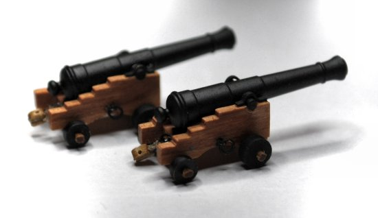 Image of model cannon