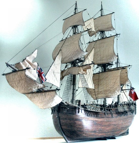 Image of HMS Endeavour
