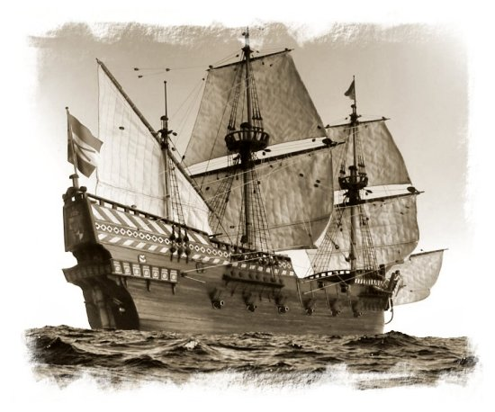 Image of a 16th Century Galleon