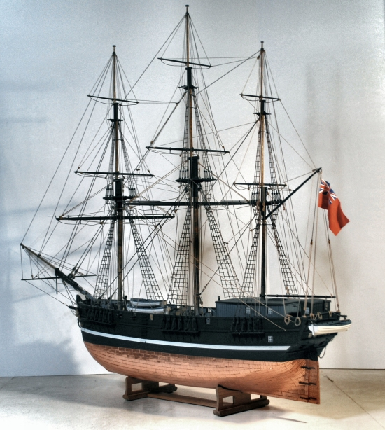 Image of conict ship model