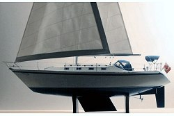 Canadian Sailcraft 36T - Sailboat - full sail