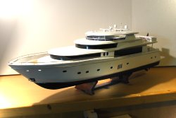 Johnson 103 Mega Yacht