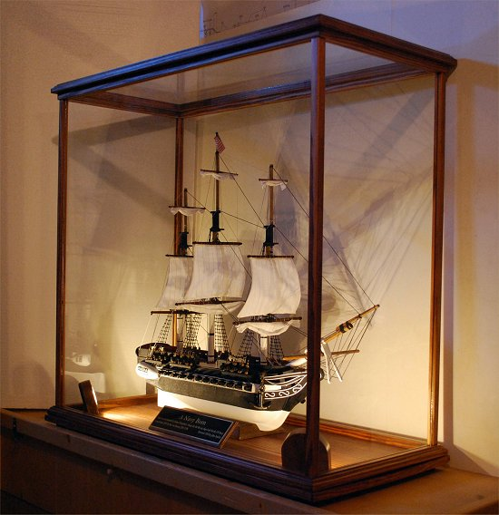 Model boat display case plans | Canoe sailing plan