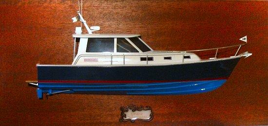 BlueStar 36.6 MKII - 'Admiral Class' half-hull model