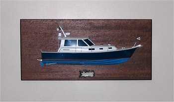 BlueStar 36.6 MKII Half Hull mounted on the wall