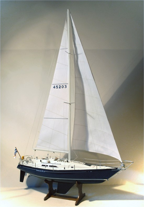 C&C 40 - custom model sloop