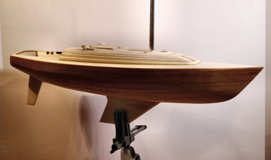 image of sailboat model coming together