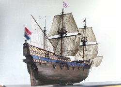 Dutch Galleon Model
