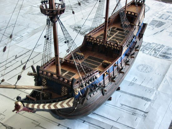 dutch galleon admiral class wooden scale ship model