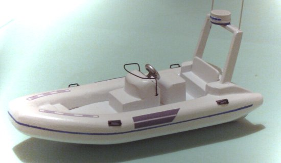 Nautica wide-body rib tender