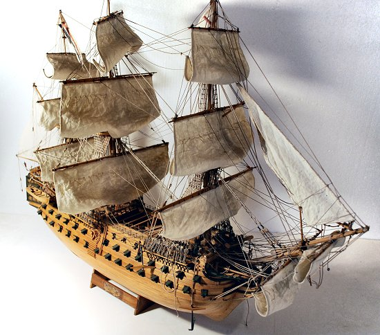 HMS Victory before restoration