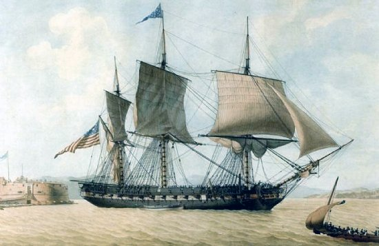 Image of nautical painting