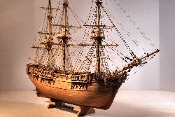 Image of HMS Bounty model