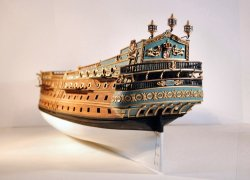Spanish Galleon Model