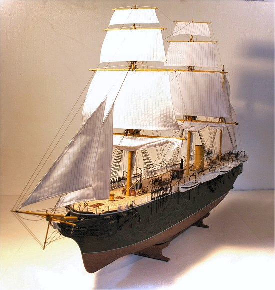 Image of HMS Simoom model